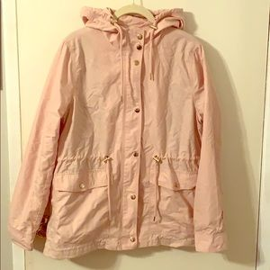 Pink military style jacket